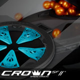 zzz - Virtue CrownSF II Speed Feed - Spire III - Cyan