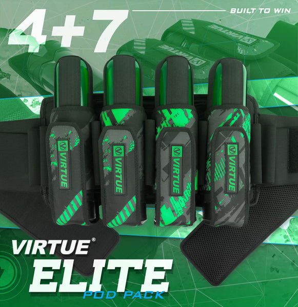 Virtue Elite Pack 4+7 Graphic Lime