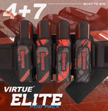 zzz - Virtue Elite Pack 4+7 Graphic Red