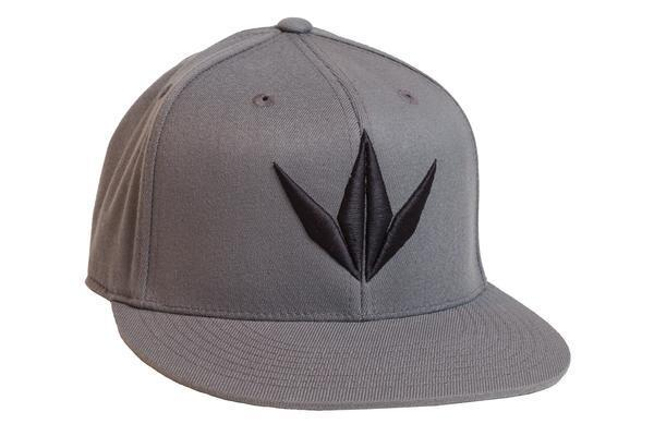 zzz - Bunkerkings Flex Fit 3D Cap - Gray/Black