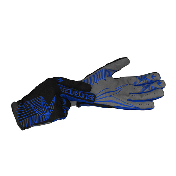 zzz - Bunkerkings Fly Paintball Gloves - Royal Blue