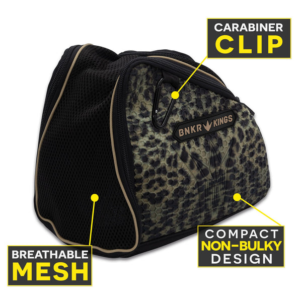 Bunkerkings Supreme Goggle Bag - Leopard
