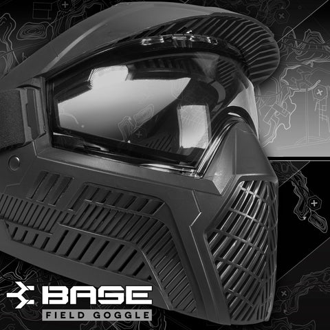 Base Thermal Field Paintball Goggle - Black