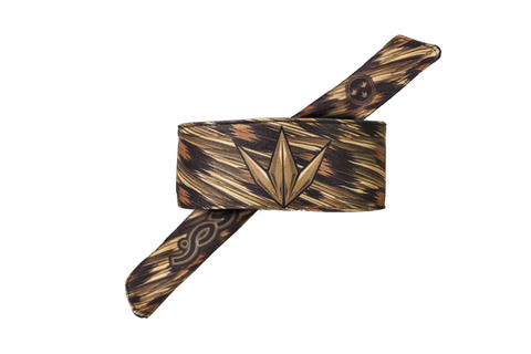 Bunkerkings Royal Tie Headband - Joy Leopard