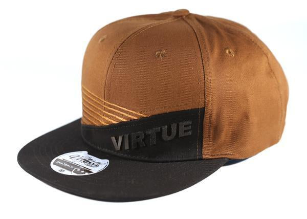 Virtue Paintball Marauder Snapback Hat Black   Brown - Caps and ... 06a35cdc4512