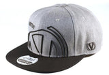Virtue Zoom50x Snapback Hat - Heather Gray / Black