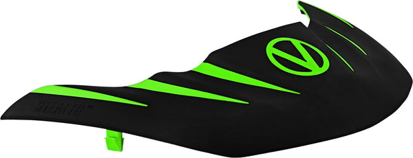 zzz - Virtue VIO Stealth Visor - Lime/Black