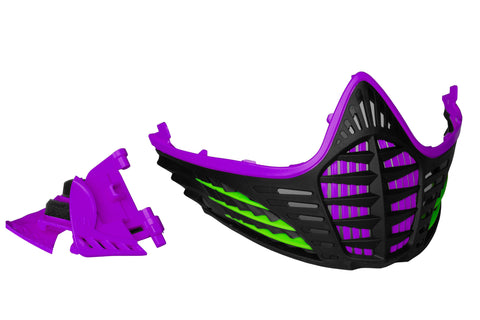 VIO Contour Facemask - Purple/Lime/Black