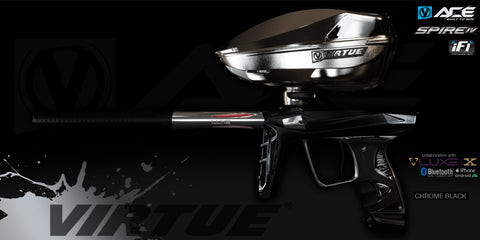 Virtue Ace - Deposit - Chrome Black - Marker + Spire IV w/ iFI