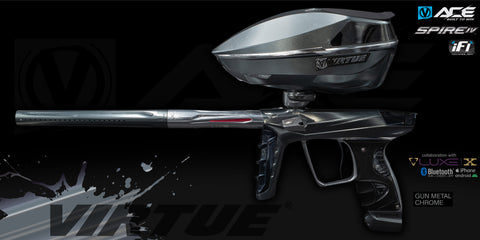Virtue Ace Marker + Spire IV Loader w/ iFI - Gun Metal Chrome (Only 50 Made)