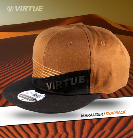Virtue Marauder Snapback Hat Black / Brown