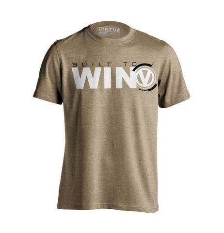 Virtue Built To Win T-Shirt - Sage