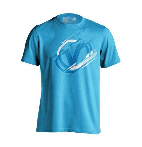 Virtue Distortion T-Shirt - Turquoise