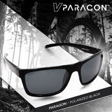 Virtue V-Paragon Polarized Sunglasses - Polished Smoke Black