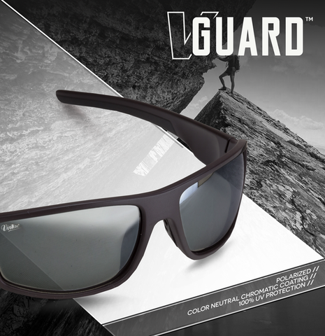 Virtue V-Guard Polarized Sunglasses - Black Mirror