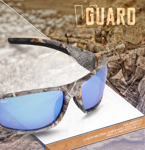 Virtue V-Guard Polarized Sunglasses - Camo Ice