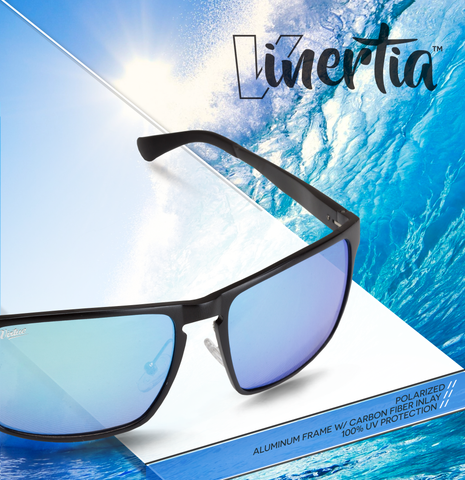 Virtue V-Inertia Polarized Sunglasses - Black Ice