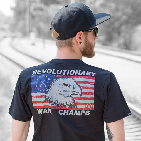 Virtue Premium Cotton Shirt - War Champs - Black