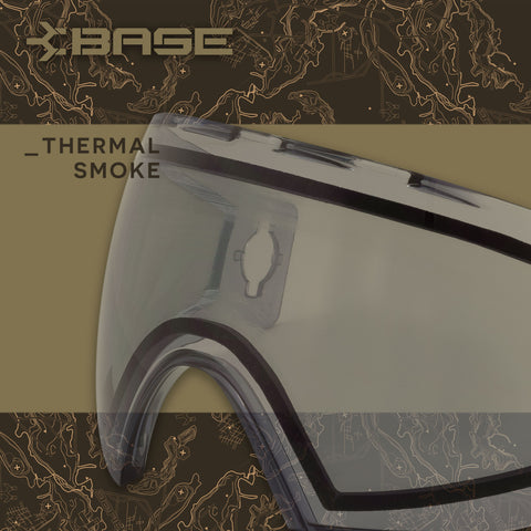 Base Replacement Lens - Thermal Light Smoke