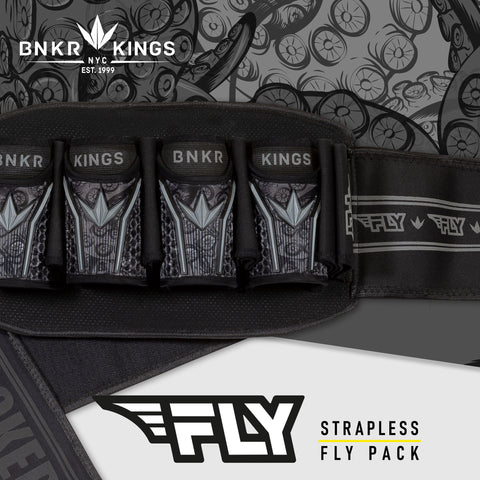 Bunkerkings Fly Pack - 4+7 - Black Tentacles