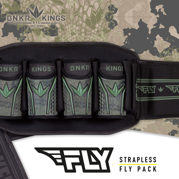 Bunkerkings Fly Pack - 4+7 - Highlander Camo
