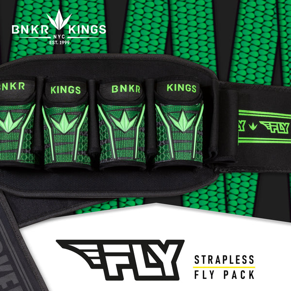 Bunkerkings Fly Pack - 4+7 - Lime Laces