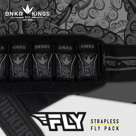 Bunkerkings Fly pack - 5+8 - Black Tentacles