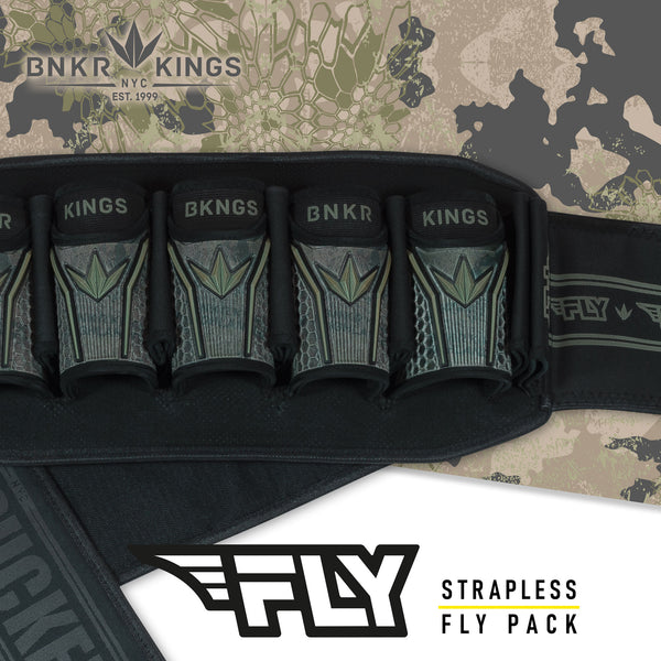 Bunkerkings Fly pack - 5+8 - Highlander Camo