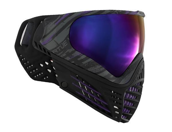 Virtue Paintball Vio Contour Goggle Graphic Amethyst Masks And Face Protection Virtuepb Com Built To Win Usa