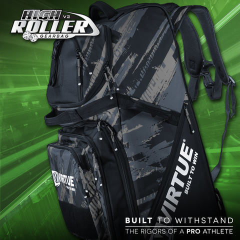zzz - Virtue High Roller V3 Gear Bag - Graphic Black