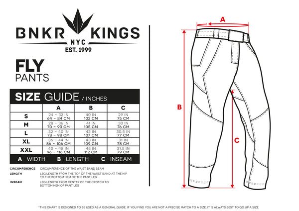 Bunkerkings Featherlite Fly Pants