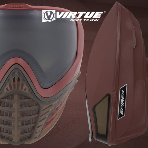 Virtue VIO Contour II + Spire III Bundle - Dark Slate Red