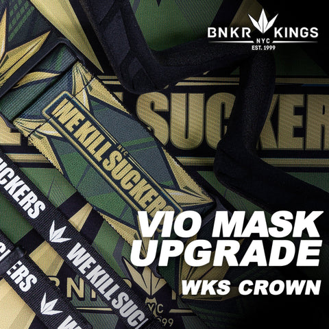 Bunkerkings VIO Mask Upgrade Kit - WKS Crown