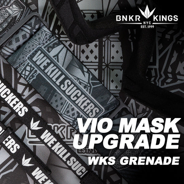 Bunkerkings VIO Mask Upgrade Kit - WKS Grenade
