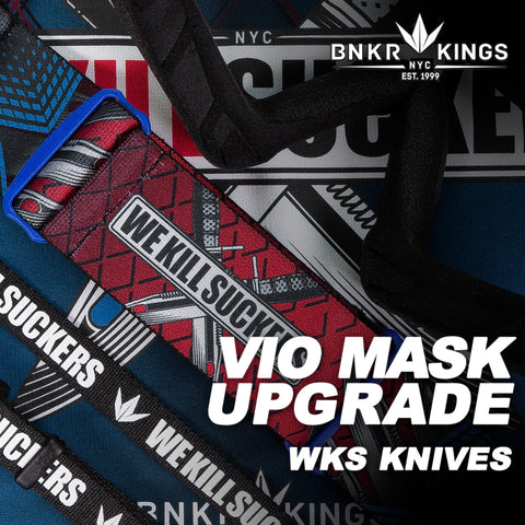 Bunkerkings VIO Mask Upgrade Kit - WKS Knife