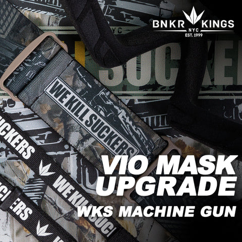 Bunkerkings VIO Mask Upgrade Kit - WKS Machine Gun
