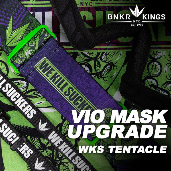 Bunkerkings VIO Mask Upgrade Kit - WKS Tentacles