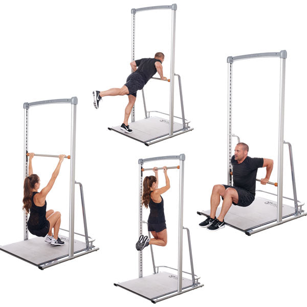 freestanding rig pullup dip station by solostrength
