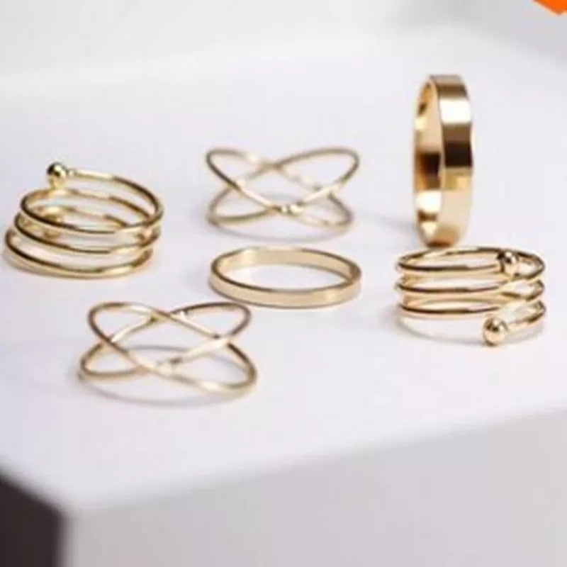 Set de bague neutron 6pcs