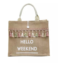 Charger l'image dans la galerie, Sac Hello weekend