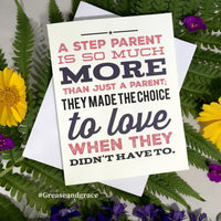 Step-Parent - So Much More, Magenta