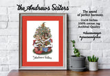 "ANDREWS SISTERS ""A is for ANDREWS"" 11x14""- Swing Era, Big Band, World War 2, Mid Century Modern, 1940s, Music Poster Archival Quality Print"