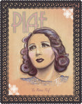 "ÉDITH PIAF - ""P is for PIAF"" - 11x14"" French Music, Cabaret, Torch Songs, Chanson, Musical Theatre  40s / 50s Archival Quality"