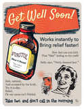 fukitol, fuck it, joke card, humorous card, get well card, funny card, sarcastic card, card for friend, card for coworker, grease and grace, retro style, vintage inspired, greeting cards, just because card