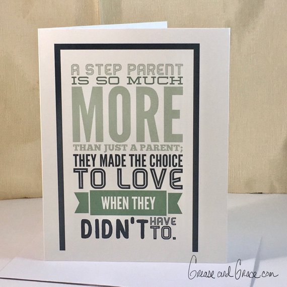 grease and grace, greeting cards, cards online, boutique shopping, gift shop, cards, step parent, stepmom, stepdad, step parent, stepmom card, stepdad card, birthday card, mothers day, fathers day, blended family cards, from stepdaughter, from stepson