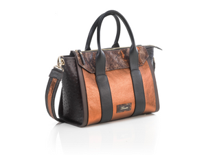 Borsa in pelle multicolore MARTINA