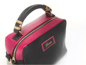 borsa in pelle GRACE sopra