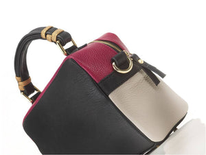 borsa in pelle GRACE lato
