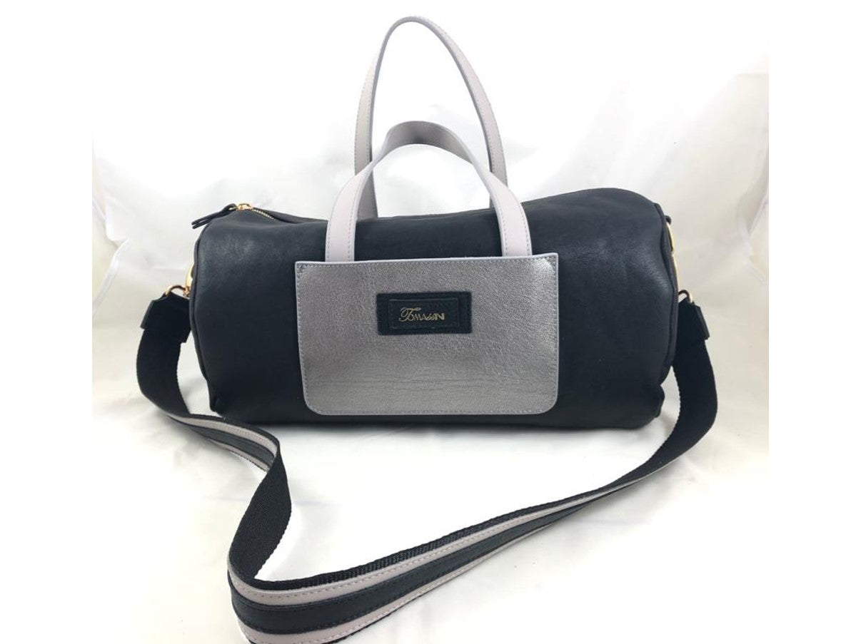 Borsa in pelle ALICE nero