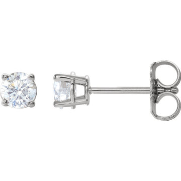 1/2 CTW Basket Diamond Earrings